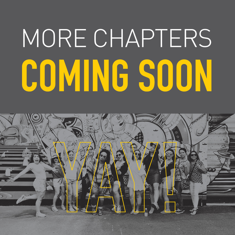 More Blogger Chapters Coming Soon