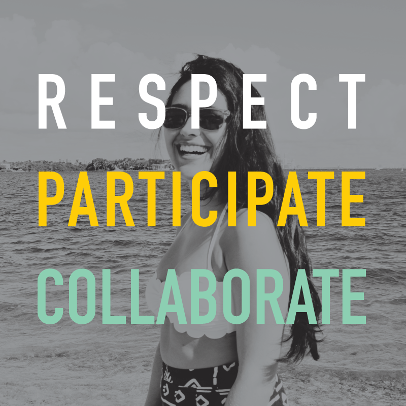 Respect-Participate-Collaborate