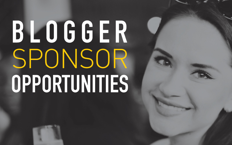 Blogger Sponsor Opportunities