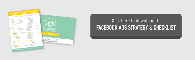Facebook Ads Checklist Download