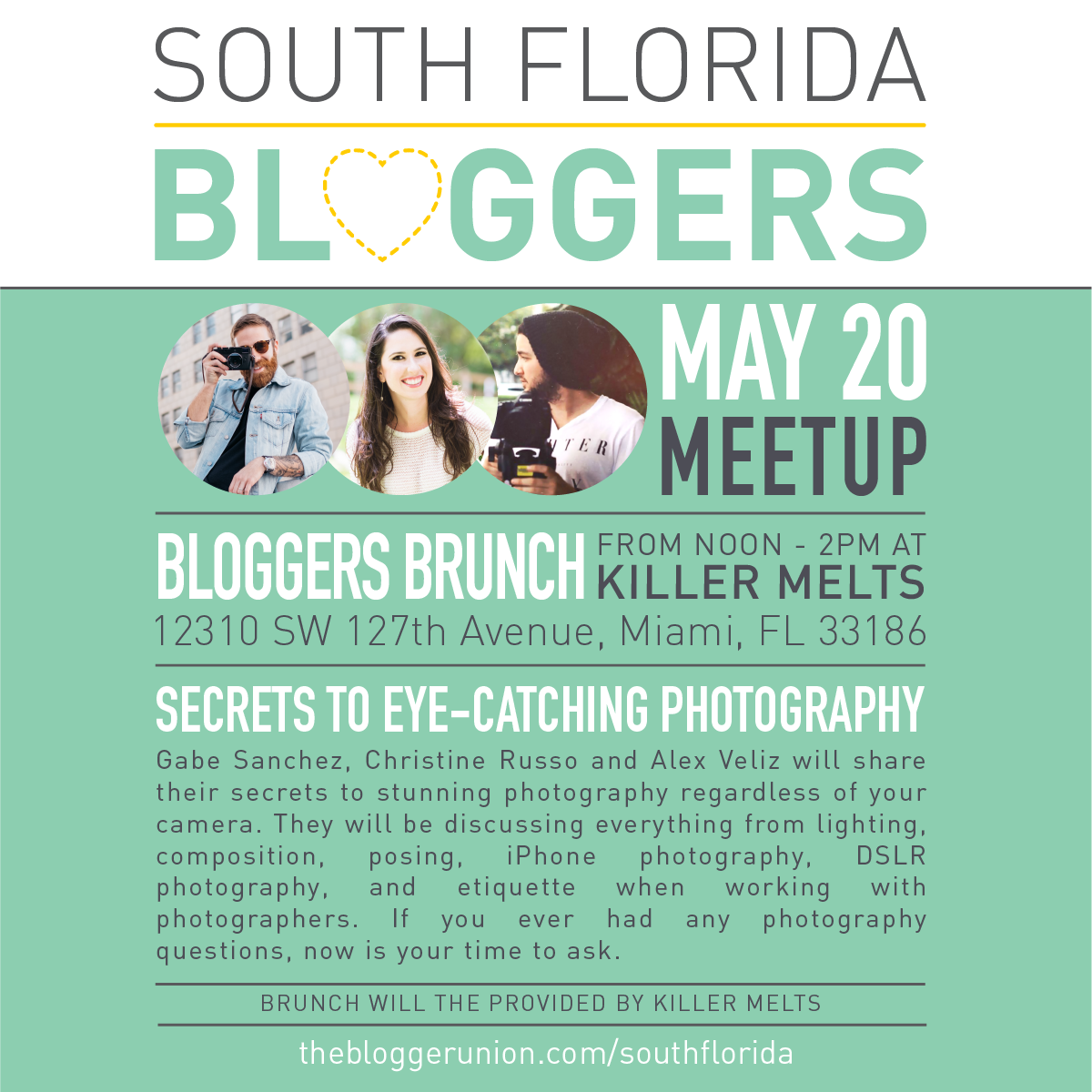 May South Florida Blogger Meetup