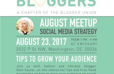 August DC Bloggers Meetup
