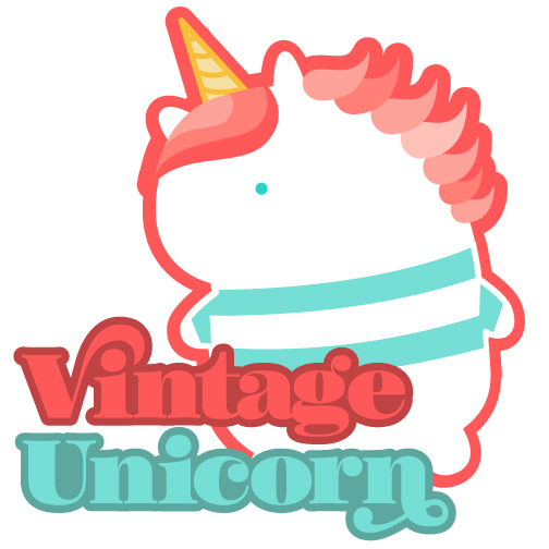 Vintage Unicorn Design