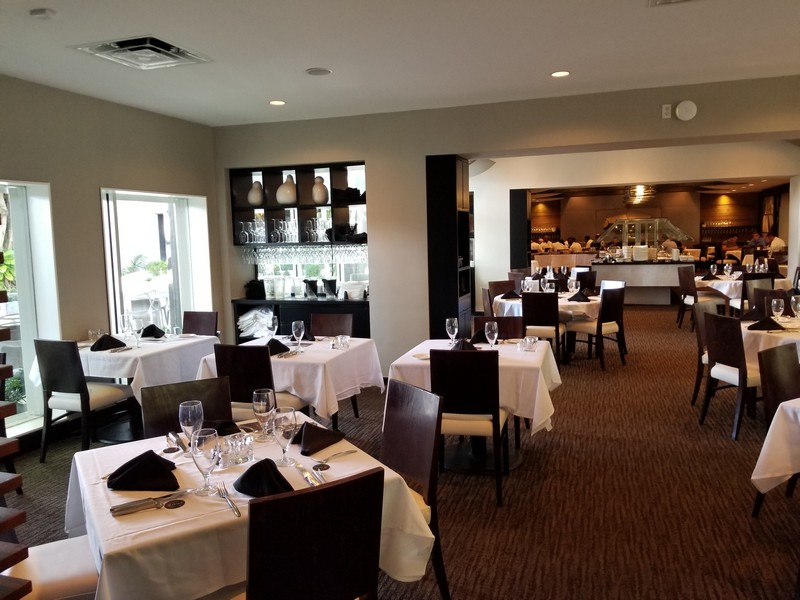 Elegant dining room at Chima Steakhouse Ft Lauderdale.