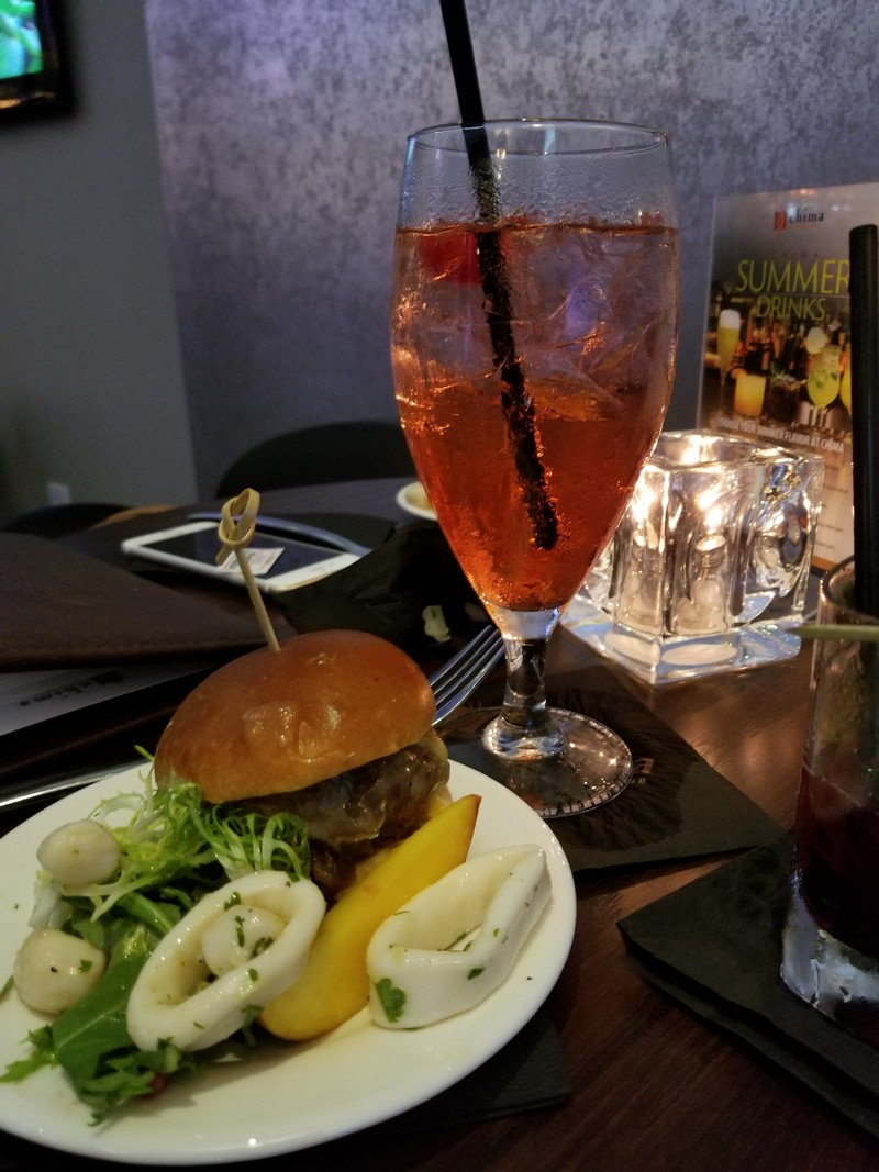 Great drinks and bites at Chima Steakhouse.