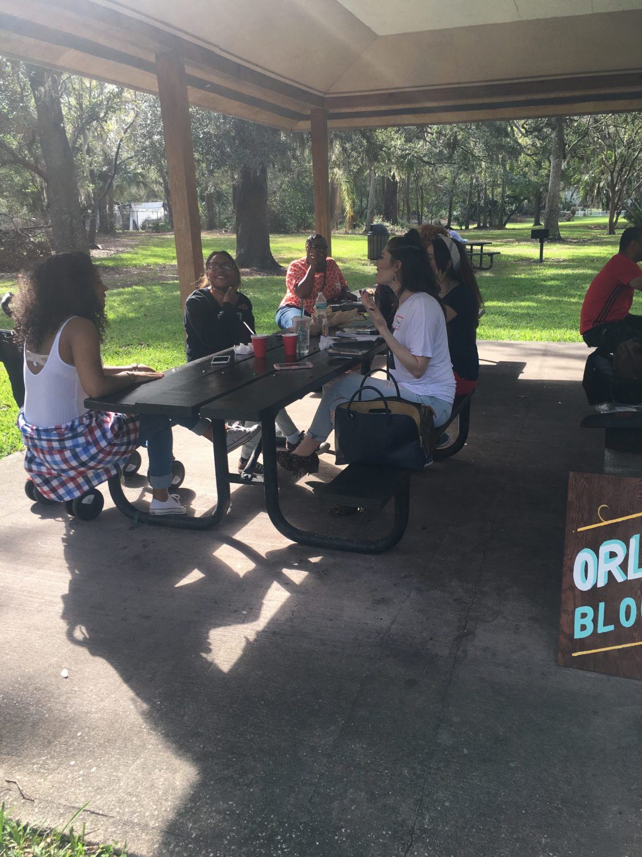 Orlando Chapter Bloggersgiving Picnic the blogger union