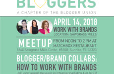 Meetup on How Bloggers Work with Brands- Ft Lauderdale Bloggers