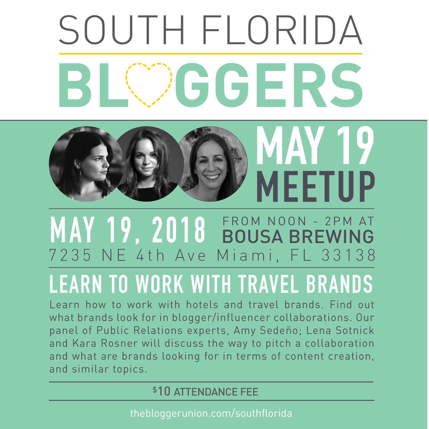 Miami Bloggers Meetup May 2018