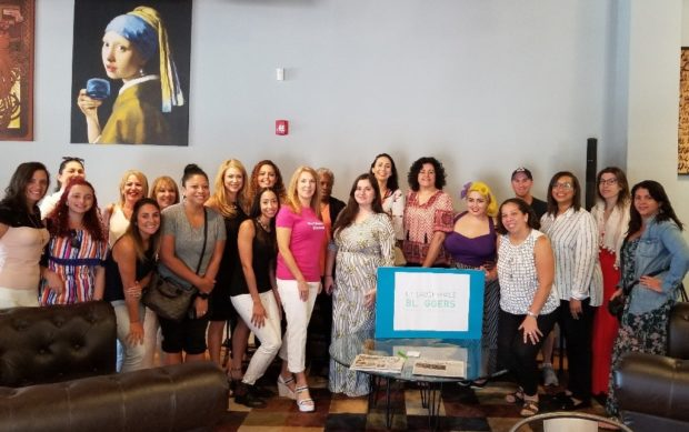 Email marketing for Bloggers meetup in Ft Lauderdale's Cafe Collective.