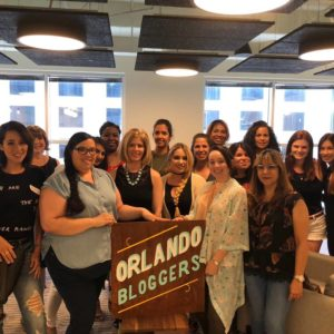 Orlando Bloggers June 2018 Meetup