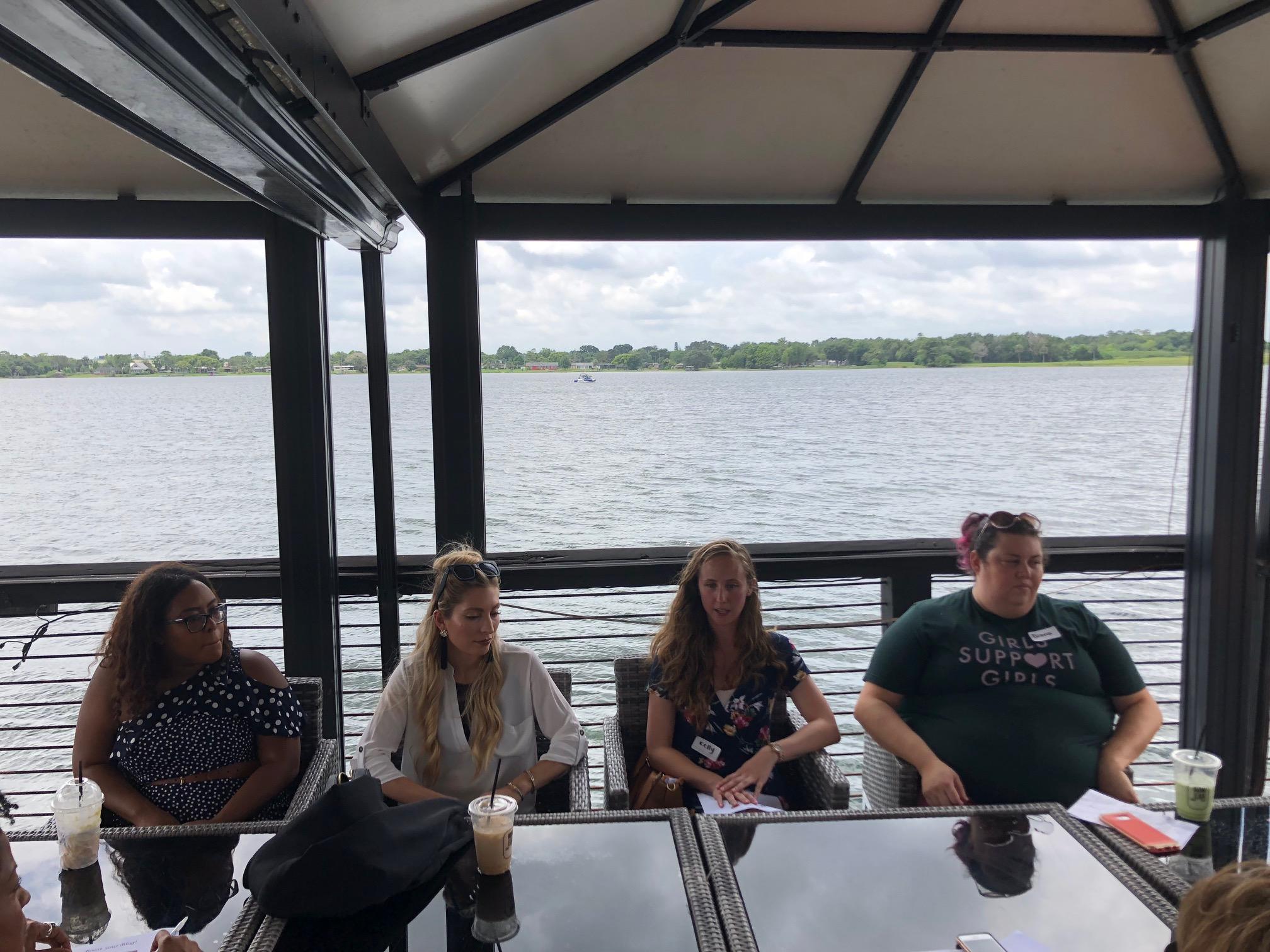 Orlando Bloggers July Meetup Speaker Panel