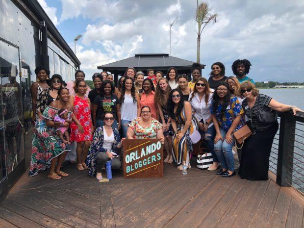 Orlando Bloggers July Meetup Group Photo