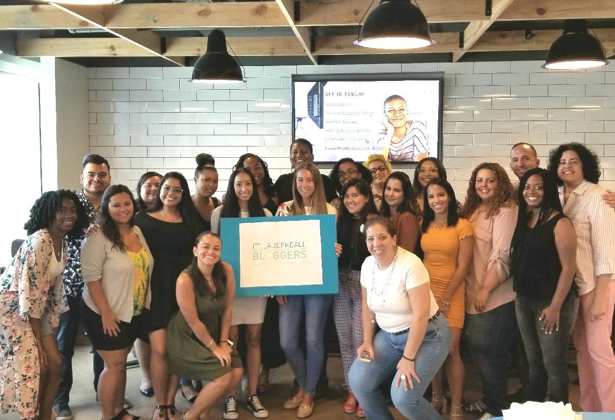 Ft Lauderdale Bloggers meetup on creativity